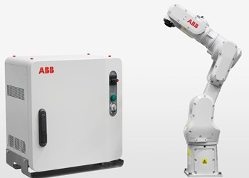 ABB Configures IRB 1100 for Wet, Dusty Environments