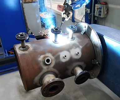 Pema welding station