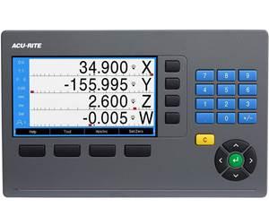 Acu Rite的DRO300可控制沉降片EDMs