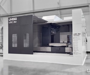 Unisig's USC-2M, USC-3M Gundrilling Machines Designed for Productive Moldmaking