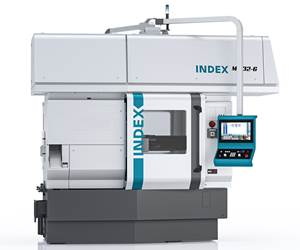 Index's MS32-6 Multi-Spindle Lathe Reduces Changeover Times