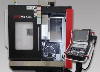 Methods MB 450U Performs Simultaneous Five-Axis Machining