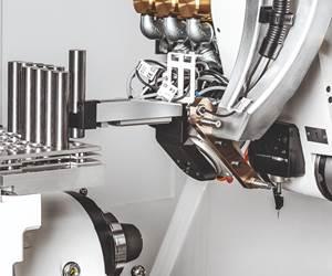 Walter Helitronic Raptor Tool Grinder Resharpens Rotationally Symmetrical Tools