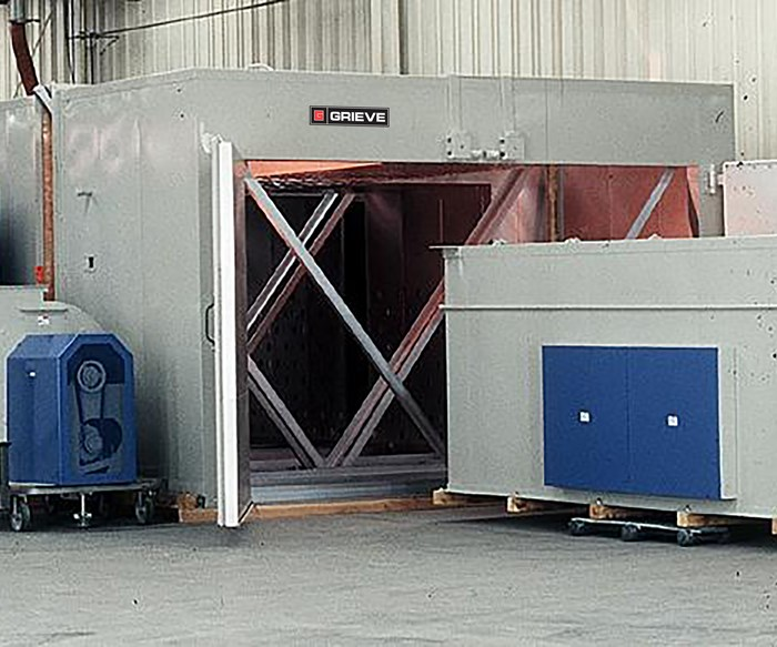 Grieve's No. 976 Walk-In Oven Used for Heating Large Molds
