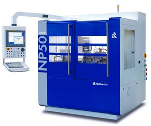 Rollomatic's ShapeSmart NP50 Performs Roughing, Finishing in One Pass
