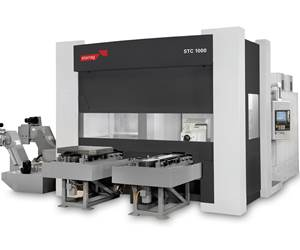 Starrag's STC-MTV Five-Axis Mill-Turns Specialize in Hard Metal Machining