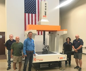 AIMS Metrology's Summit 10.10.10 Inspects Large Parts