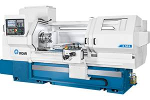 Romi's C Series Lathes Offer Flexibility