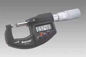Starrett Digital Micrometers Offer Improved Ergonomics