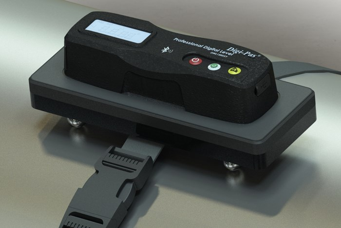 Hamar Laser's A-1700 Enables Wireless Roll Alignment