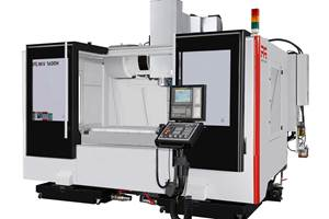 Methods Optimizes Three-Axis MV 1600H for Large Workpieces