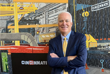 A photo of Timothy L. Warning, Cincinnati Incorporated's new president and CEO