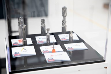 A photo showing the Overall finalists of ANCA's 2020 Tool of the Year competition