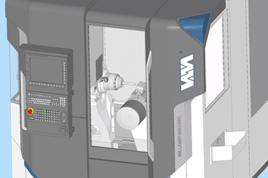 An ESPIRT rendering of a digital twin of the Willemin-Macodel 508MT2