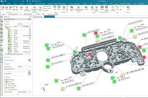 Siemens NX Update Adds Model Based Definition