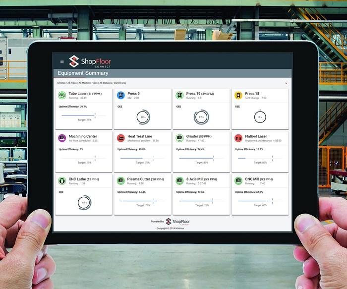 ShopFloorConnect 6.0 Collects Data from All Machines for OEE Reporting