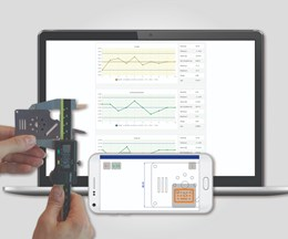 EngView's mCaliper App Safely Transfers Manual Measurement Results