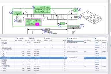 A partial screenshot showing the Manufacturing Key Sets feature from High QA's Inspection Manager 5.1 update