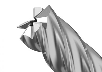 Kennametal's KOR 5 End Mill Enables Higher Feed Rates Roughing Aluminum