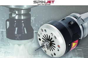 Tungaloy SpinJet HPC Uses Coolant Pressures up to 7 MPa