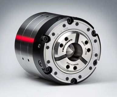 MicroCentric compensating collet chuck