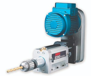 Suhner's EconoMaster Drilling Units Cut Various Light Materials