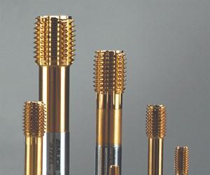 Emuge's Innoform-Steel-M Taps Form Threads in Medium-Strength Steels