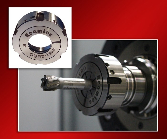 Reamtec's EasyZero Runout Compensation Nuts Enable More Precise Concentric Milling