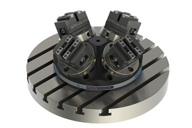Jergens four-sided pyramid risers for five-axis machining