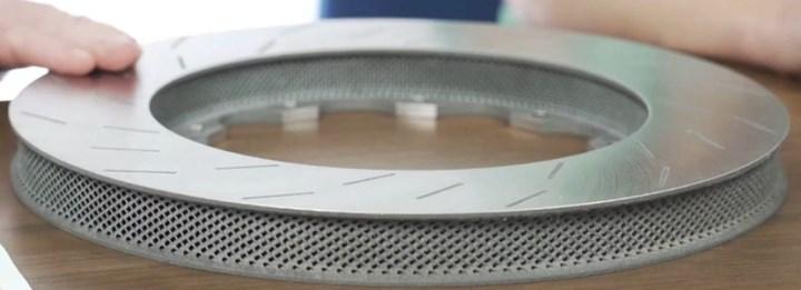 ceramic disc technologies brake rotor