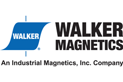 Walker Magnetics' new logo as part of Industrial Magnetics