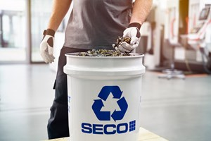 Seco Tools Sets Sustainability Goals, Engages in Partnership