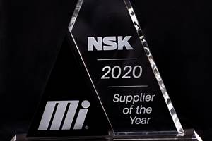 NSK Named Motion Industries' 2020 Supplier of the Year
