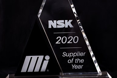 NSK 2020 Supplier of the Year Award