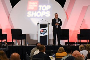 Steve Kline Speaking at the Top Shops Expo