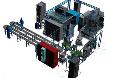 Laser Welder for RDU and PTU parts
