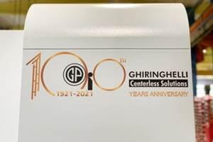 Rettificatrici Ghiringhelli Celebrates 100 Years