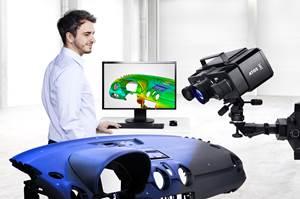 捕捉3D的数字化加速扫描