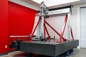精确计量在莫林工厂安装大型坐标测量机