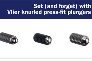 Vlier的压配合柱塞有许多应用