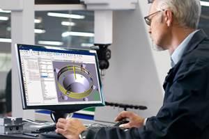 LK计量发布更新的三坐标测量软件