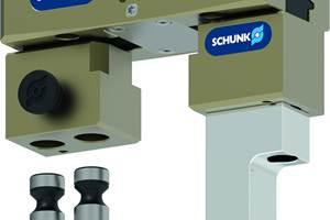 夹持手指改变系统从Schunk减少设置时间