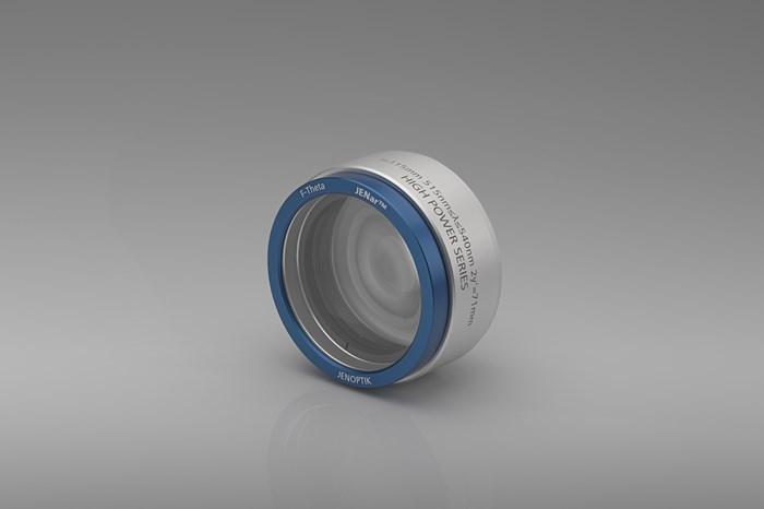 Jenoptik's F-Theta Lens Withstands Kilowatt-Powered Lasers