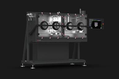 A press rendering of Desktop Metal's P-1 printer