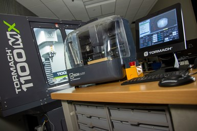 A photo of Tormach's xsTech CNC mill, which it recommends for beginners in the field