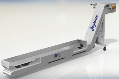 A photo of Jorgensen Conveyor and Filtration Solutions' EcoFilter Conveyor