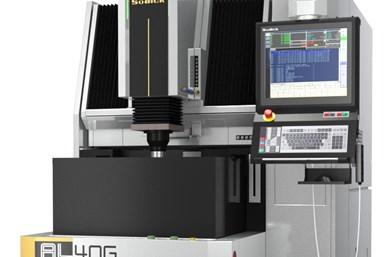 A press image of Sodick's AL40G rigid linear motor driven die-sinker EDM