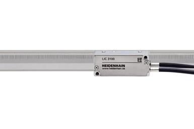 A partial press photo of the Heidenhain LIC 3100 absolute kit encoder
