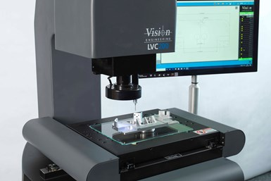 A photo of Vision Engineering's LVC200 in use