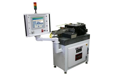 A press photo of Glebar's DM-9CNC offline Wheel Dressing Machine